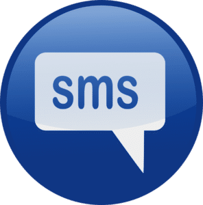 Unterstützung per SMS